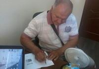Валерий Алексеевич Кондурцев подписал авторский экземпляр